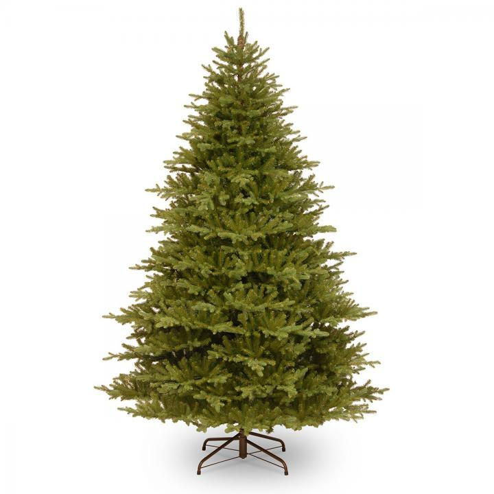 Pe Christmas Trees Uk: 8ft Smokey Mountain Fir Feel-Real Memory-Shape Artificial