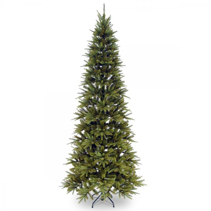 Pe Christmas Trees Uk: 6.5ft Weeping Spruce Slim Feel-Real Artificial Christmas