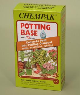 Chempak Potting Base (795g). A reliable method for converting peat into compost which is ideal for re-potting and potting on plants.
