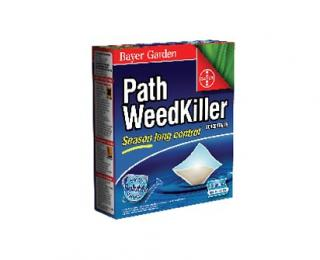 Bayer Path Weedkiller Concentrate 6 Sachet. Season long control of weeds on gravel paths and drives in a soluble sachet formulation.
