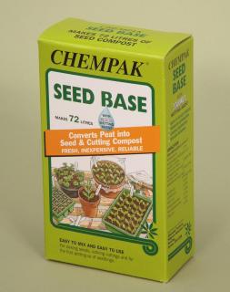 Chempak Seed Base (525g). A reliable method for converting peat into seed and cutting compost.