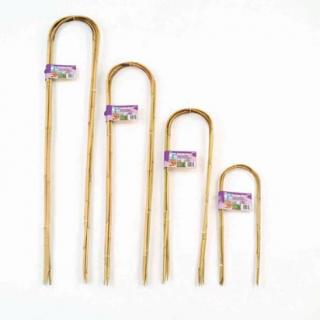 Bamboo Hoops provide support for all long stemmed plants and climbers.