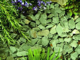 Kelkay Green Slate Chippings 20-40mm Bulk Bag Aggregate