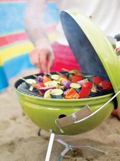 Weber Smokey Joe Premium 37cm Charcoal Barbecue - Spring Green