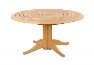Alexander Rose Code 124. Stylish garden table with a pedestal base.