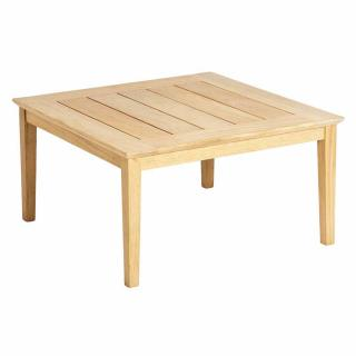 Alexander Rose Code 125. A square hardwood coffee table which matches the Roble range.