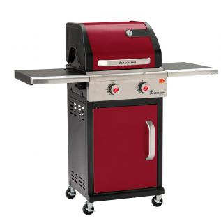 This colourful 2 Burner Gas BBQ in Bordeaux is a practical & attractive barbecue.