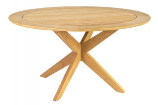 Alexander Rose Roble Round Cross Base Dining Table 1.25m
