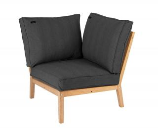 Alexander Rose Code 161. A comfortable hardwood garden chair which will form a corner for a modular lounge set.