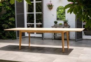Alexander Rose Code 172. A great extending table for families & parties.