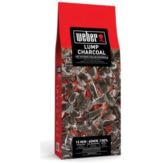 Fast lighting lumpwood charcoal for efficient barbecuing.
