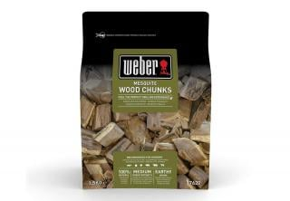 Weber Barbecue Mesquite Wood Chunks