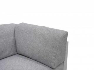This cushion is designed to complement the Galaxy range of modular garden furniture.