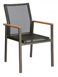 Barlow Tyrie Aura Armchair in Charcoal