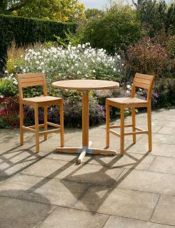Barlow Tyrie Bermuda High Dining Set for Two