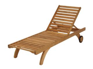 Barlow Tyrie Code 1CAS. The Standard Capri Lounger is ideal for pool sides, decks and terraces.