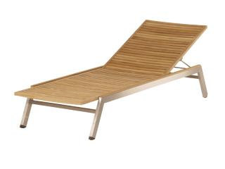 Barlow Tyrie Equinox Teak Stacking Lounger