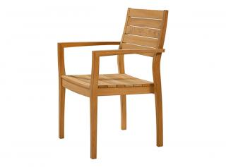 Barlow Tyrie Horizon Armchair with Teak Back and Seat