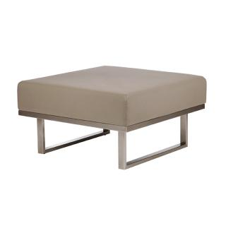 Barlow Tyrie Code 1MEDO. The Mercury Ottoman will help create your own module suite.
