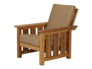 Barlow Tyrie Mission Teak Reclining Armchair