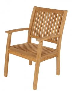Barlow Tyrie Code 1MOA. The solid teak Monaco Armchair would compliment all Monacos' beautiful table and sun loungers.