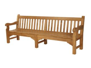 Suitable for gardens and public areas the Barlow Tyrie Rothesay 240cm Teak Bench was built to last.
