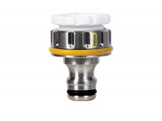 "Nickel Plated Brass 3/4"" BSP tap connector suitable for use with 95% of all outdoor taps."