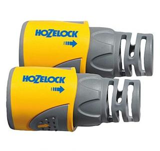Hozelock Garden Hose Connector - 12.5mm 2050 Twin Pack