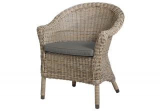 4 Seasons Outdoor Chester Dining Chair in Pure