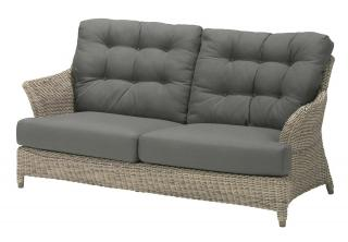 4 Seasons Outdoor Valentine 2.5 Seater Bench in Pure
