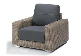4 Seasons Outdoor Kingston Living Chair in Pure