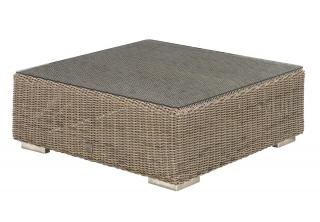 4 Seasons Outdoor Kingston Coffee Table 0.95m in Pure