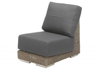 4 Seasons Outdoor Kingston Modular Centre Chair in Pure