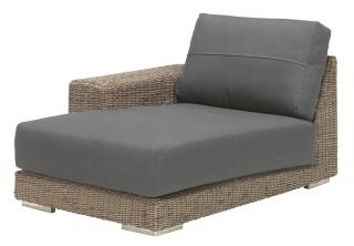 4 Seasons Outdoor Kingston Modular Chaise-Lounge Right