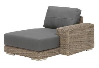 4 Seasons Outdoor Kingston Modular Chaise-Lounge Left