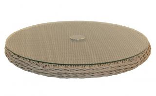 4 Seasons Outdoor Lazy Susan in Praia Weave
