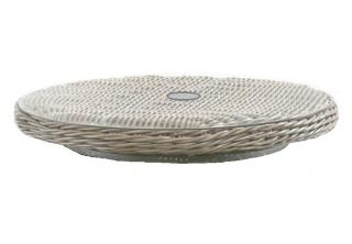 4 Seasons Outdoor Lazy Susan in Pure Weave