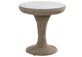 4 Seasons Outdoor Victoria Bistro Table in Pure