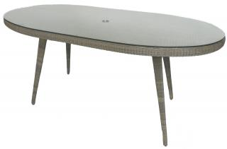4 Seasons Outdoor Astoria Dining Table 2.3m in Pure