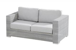 This chunky sofa will extend your Lucca set & comes with thick all weather cushions in Manchester Grey.