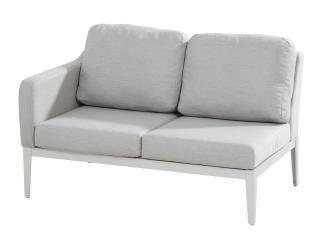 This Right Armed Modular Sofa Has A Frost Grey Aluminium Frame With Grey  Sunbrella Upholstery U0026amp