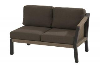 4 Seasons Outdoor Oslo Modular 2 Seater Bench Left Arm