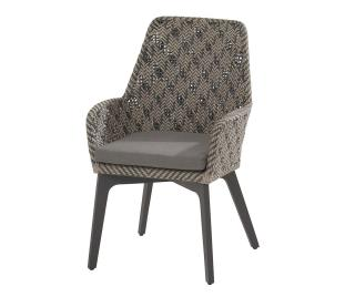 4 Seasons Outdoor Savoy Dining Chair in Batik