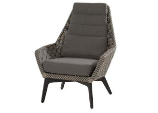 4 Seasons Outdoor Savoy Living Chair in Batik