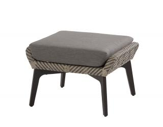 4 Seasons Outdoor Savoy Footstool in Batik