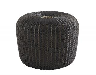 4 Seasons Outdoor Little Donut in Polyloom Anthracite