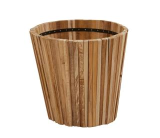 4 Seasons Outdoor Miguel Round Teak Planter - Small