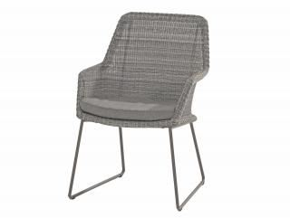 4 Seasons Outdoor Samoa Dining Chair - Front