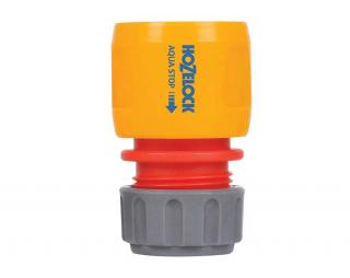 Hozelock Garden Hose Connector - AquaStop 12.5mm & 15mm 2185