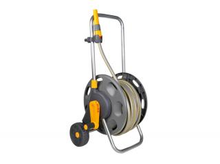 Hozelock Hose Cart 60m with 50m Garden Hose 2435